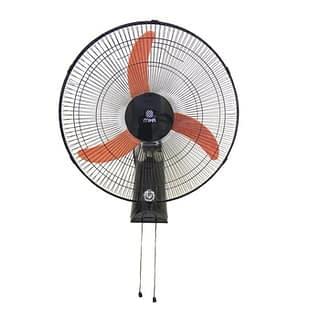 """Wall Fan, 18"""", Orange & Black"""