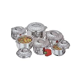 Signature 6 Pieces Stainless Steel Hot Pots