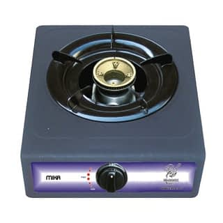 Gas Stove, Table Top, Non Stick, 1 Burner, Grey