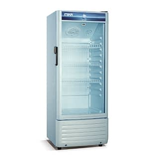 Mika Upright Showcase Freezer, 130L-MSFU1301WG