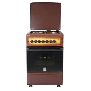 Standing Cooker, 50cm X 55cm, 3 + 1, Electric Oven, Light Brown TDF
