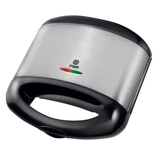Sandwich Maker, 2 Slice, 750W, Black & SS