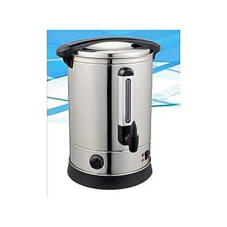 STERLING Commercial Catering Tea Urn Stainless Steel Water Boiler, 10 Ltrs