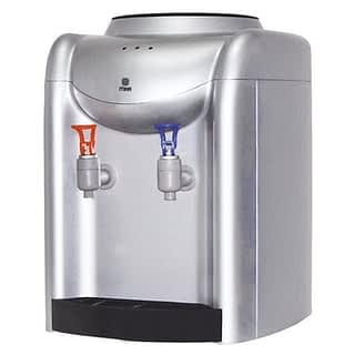 Water Dispenser, Table Top, Hot & Normal, Silver & Grey