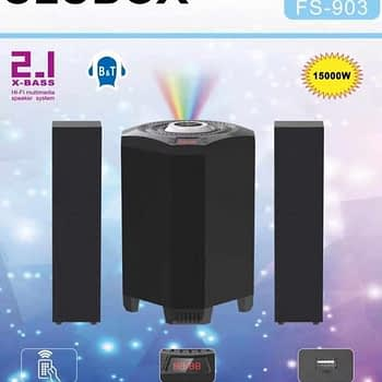 CLUBOX 2.1 X-Base HI-FI Bluetooth Speaker System FS-903