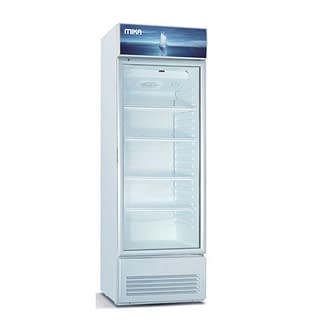 Mika Upright Showcase Freezer, 180L-MSFU1801WG