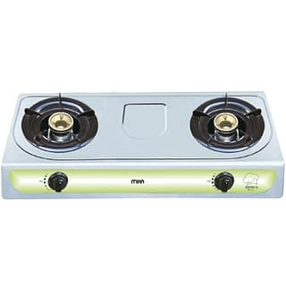 Gas Stove, Table Top, Stainless steel, 2 Burner