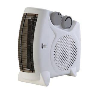 Fan Heater, 1000-2000W, White