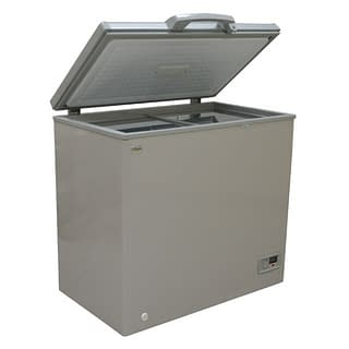 Deep Freezer, 150L, Silver Grey