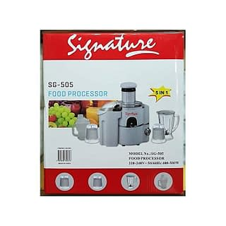 Signature Signature 5 in 1 Food Processor /Blender