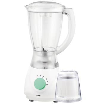 Blender, 1.7L, 550W, With Grinder, White & Green