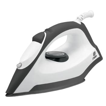 Dry / Spray Iron, Ceramic Soleplate, Grey & White