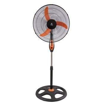 """Stand Fan 18"""", Orange & Black"""