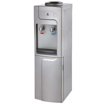 Water Dispenser, Standing, Hot & Cold, Compressor cooling, Silver & Grey