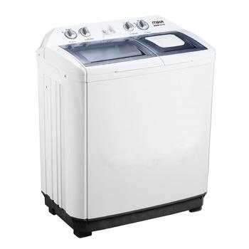 Washing Machine, Semi-Automatic, 10Kg, White