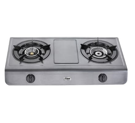 Gas Stove, Table Top, Teflon, 2 Burner