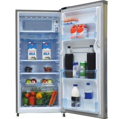 Refrigerator, 190L, Direct Cool, Single Door, Moon Silver