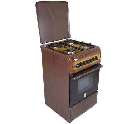 Standing Cooker, 50cm X 55cm, 4GB, Electric Oven, Light Brown TDF