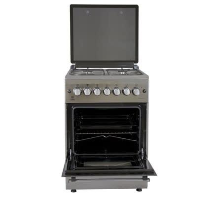 Standing Cooker, 60cm X 60cm, 4GB, Electric Oven, Half Inox