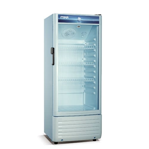 Mika Upright Showcase Freezer, 150L-MSFU1501WG
