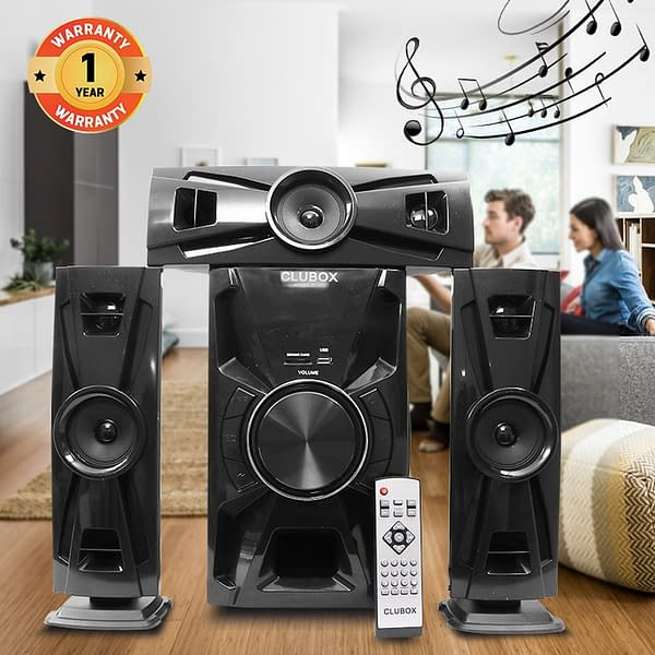 CLUBOX 3.1 Bluetooth Speaker System IC 403