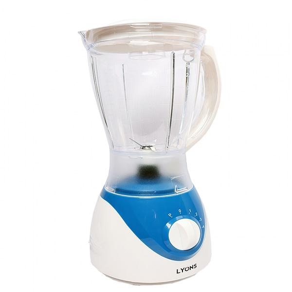 Lyons 2in 1 Blender 1.5L Blue+white -FY-304