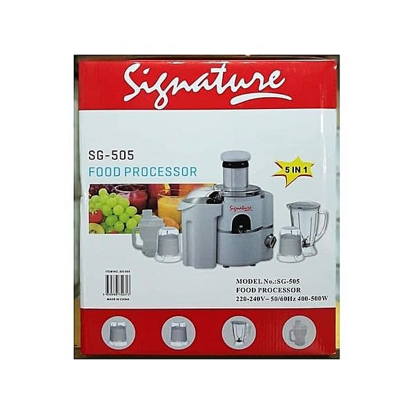 Signature Signature 5 in 1 Food Processor /Blender