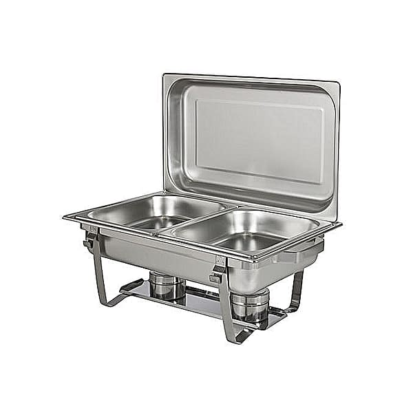 High Quality Stainless Steel Chafing Dish- 2 Trays